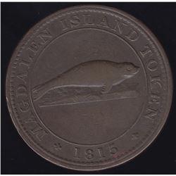 BR 520 Lower Canada Magdalen Island penny, 1815