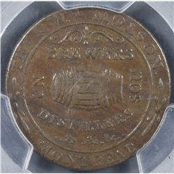 BR 562. Molson storecard, 1837.