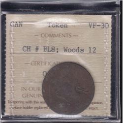 Wood 12. Bust L/Harp L.