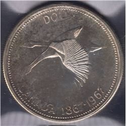 1967 Silver Dollar Double Struck
