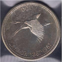 1967 Silver Dollar Double Struck