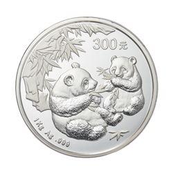 2006 China 300 Yuan 1kg kilo Silver Panda