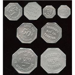 Hudson's Bay Company - Uniface White Metal Copies of Yorkton.