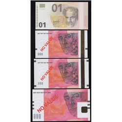 Germany State Printing Works - Lot of 4 Test Notes