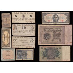 Lot of World Banknotes
