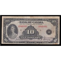 Bank of Canada $10, 1935