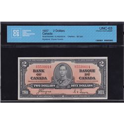 Bank of Canada $2, 1937