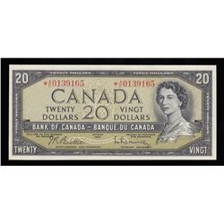 Bank of Canada $20, 1954 Replacement