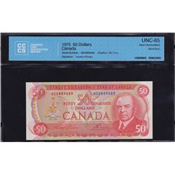 Bank of Canada $50, 1975 Short Run