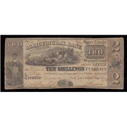 Agricultural Bank $2, 1836