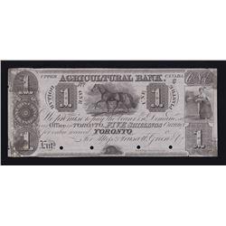 Agricultural Bank $1, 18_