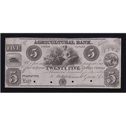 Agricultural Bank $5, 18_