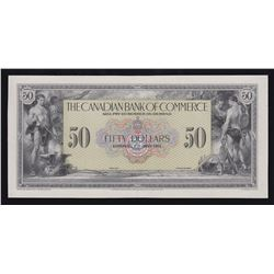 Canadian Bank of Commerce $50, 1917