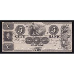 City Bank $5, 18_