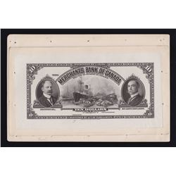 Merchants Bank of Canada $10, 1917