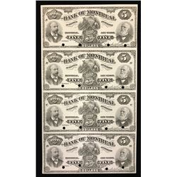 Bank of Montreal $5, 1895