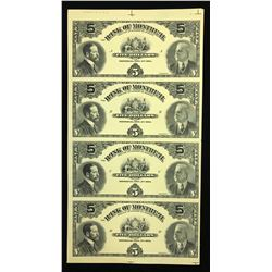 Bank of Montreal $5, 1914