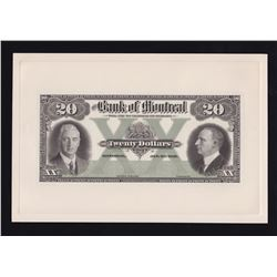 Bank of Montreal $20, 1931