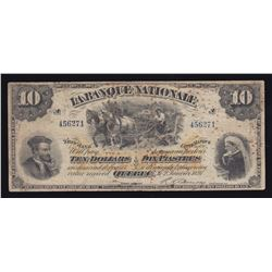 Banque Nationale $10, 1897