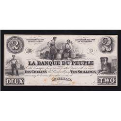 Banque du Peuple $2, 18_