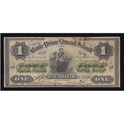 Bank of Prince Edward Island $1, 1877