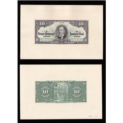 Banque Provinciale du Canada $10, 1936