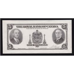 Royal Bank of Canada $5, 1935
