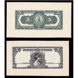 Standard Bank of Canada $5, 1918