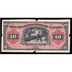Traders Bank of Canada $10, 1909