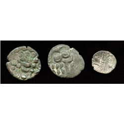 Celtic Britain, Durotriges Tribe Group. Lot of 3