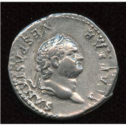 Titus, as Caesar. 69-79 AD. AR Denarius