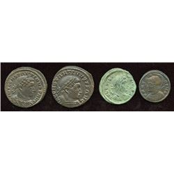 4th Century Roman - Better Grades. Mixed. Lot of 4