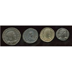 4th Century Roman - Better Grades. Mixed. Lot of 4
