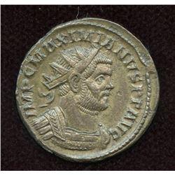 Carausius, in name of Maximianus. Billon Antoninianus