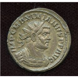 Carausius, in name of Maximianus. Billon Antoninianus