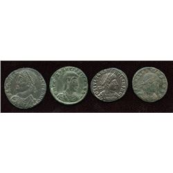 4th Century Emperors Group. Lot of 4