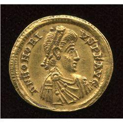 Honorius. 393-423 AD. AV Solidus.
