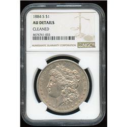 Silver Dollar, 1884