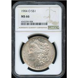 Silver Dollar, 1904-O