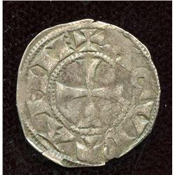 England. Richard I, as Duke of Aquitaine. 1172-1189. BI Denier.