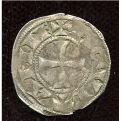 England. Richard I, as Duke of Aquitaine. 1172-1189. BI Denier.