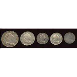 Great Britain. George III 1760-1820 - Lot of 5