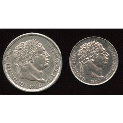 Great Britain. George III 1760-1820 - Lot of 2