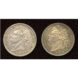 Great Britain. George III 1760-1820 - Lot of 2