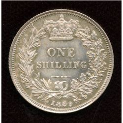 Great Britain. One Shilling, 1839