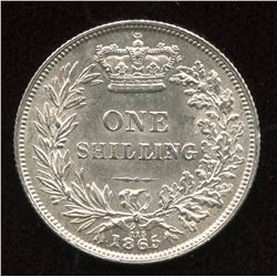 Great Britain. One Shilling, 1865