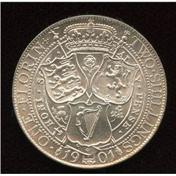 Great Britain. One Florin, 1901