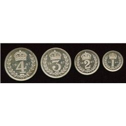 Great Britain. George VI 1936-1952. Maundy Set.