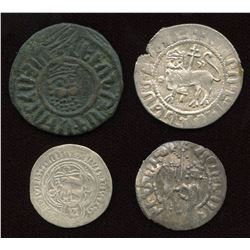 Middle Ages Group - Mixed. Lot of 4