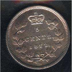 1872H Five Cents